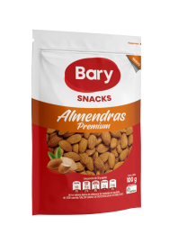 ALMENDRA AL NATURAL BARY 100 g