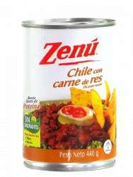 CHILE CON CARNE ZENÚ 440 g